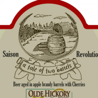 Olde Hickory Saison Revolution Apple Brandy Barrel-aged Saison