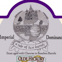 Olde Hickory Imperial Dominance Bourbon Barrel-aged Imperial Stout