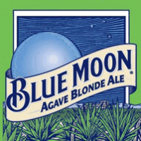 blue moon agave blonde label