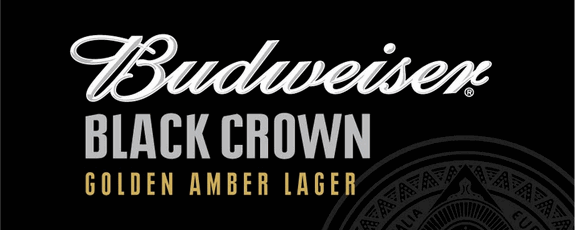 budweiser black crown golden amber lager