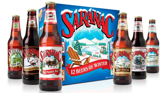 saranac 12 Beers of Winter crop