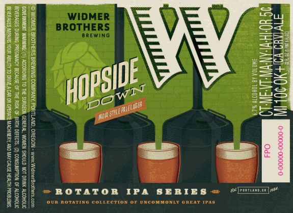 Widmer Brothers Hopside Down India Pale Lager