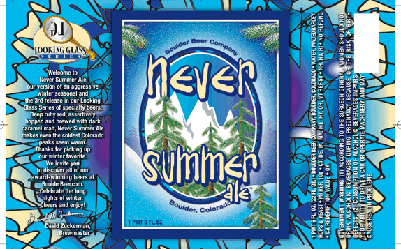 Boulder Never Summer Ale