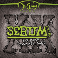 DuClaw Bourbon Barrel Aged Serum XX IPA label