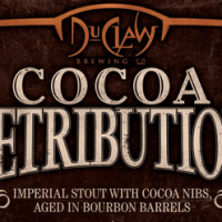 DuClaw Cocoa Retribution Bourbon Barrel Aged Imperial Stout