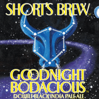 Short's Goodnight Bodacious Double Black IPA