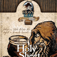 Heavy Seas Holy Sheet Brandy Barrel-aged Belgian Abbey Ale