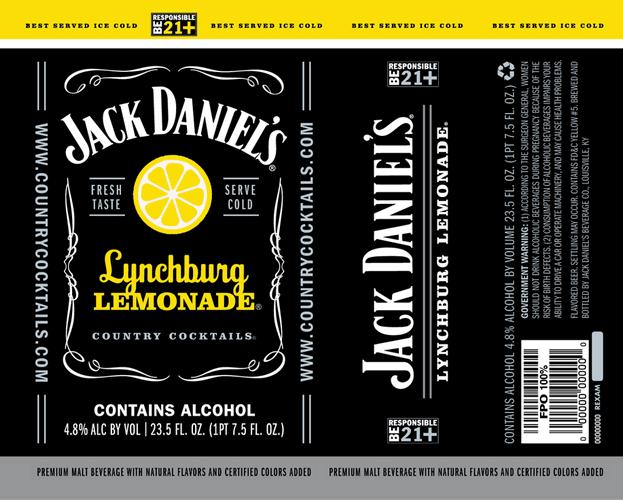 jack daniel s lynchburg lemonade beerpulse. Black Bedroom Furniture Sets. Home Design Ideas