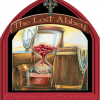 The Lost Abbey Cuvee de Tomme label