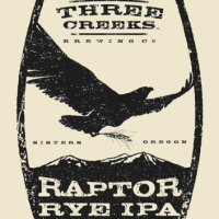 Three Creeks Raptor Rye IPA