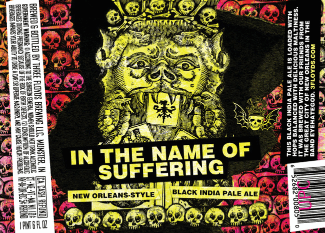 Three Floyds In the Name of Suffering New Orleans-style Black IPA