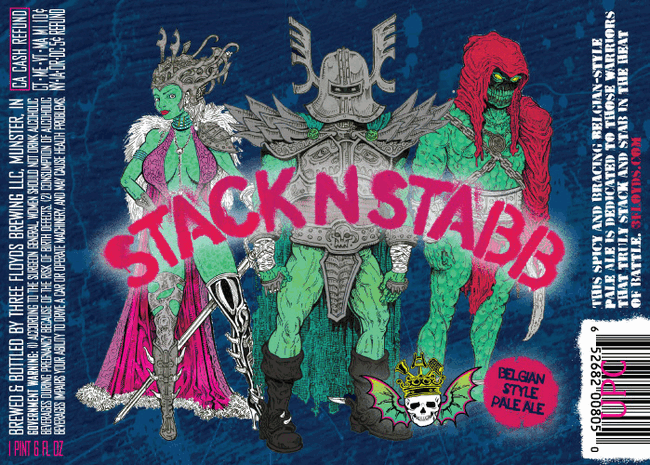 Three Floyds Stack n Stabb Belgian Pale Ale