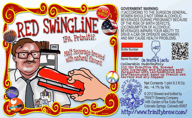 Trinity Red Swingline Primitive IPA