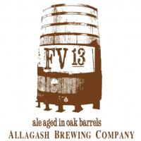 allagash fv13 oak aged ale