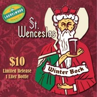 laurelwood st wenceslas winter bock label