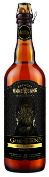 ommegang iron throne bottle shot