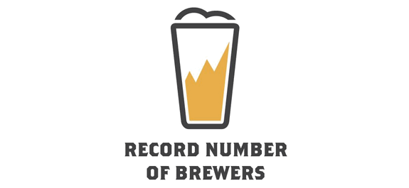 record number of breweries small