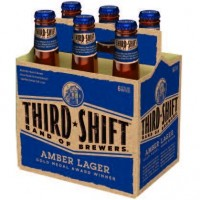 third shift amber lager 6pk