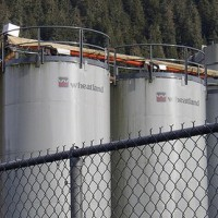 Alaskan Brewing tanks