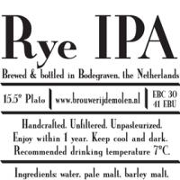 De Molen Rye IPA