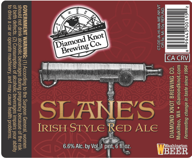 Diamond Knot Slane's Irish Red Ale