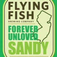Flying Fish Forever Unloved Sandy label