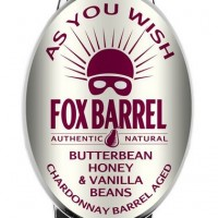 Fox Barrel As You Wish Chardonnay Wine Barrel Aged Cider