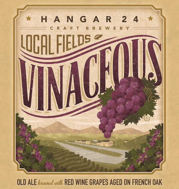 Hangar 24 Vinaceous English Old Ale joins Local Fields Series later ...