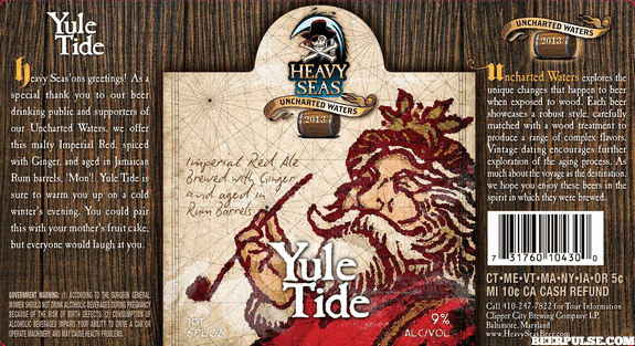 Heavy Seas Yule Tide Rum Barrel Aged Imperial Red Ale