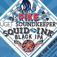 Pike Puget Soundkeeper Squid Ink Black IPA