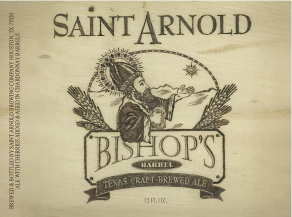 Saint Arnold Bishop's Barrel Chardonnay Wine Barrel-aged Ale