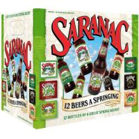 Saranac 12 Beers A Springing Variety Pack