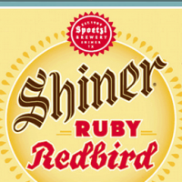 Shiner Ruby Redbird 12oz can