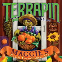Terrapin Maggies Peach Farmhouse Ale