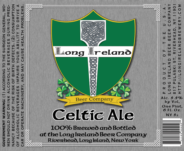 Long Ireland Celtic Ale | BeerPulse
