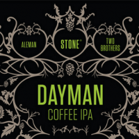 dayman coffee ipa label stone two brothers