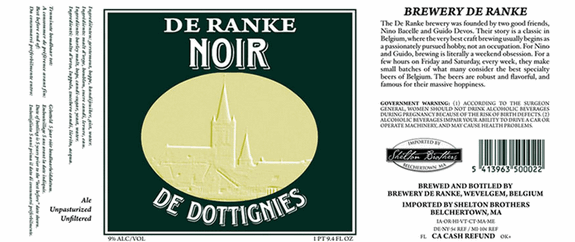 de ranke noir label