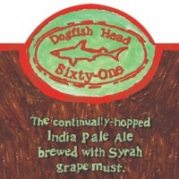 dogfish head sixty-one ipa