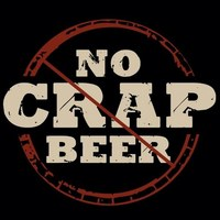 no crap beer logo square
