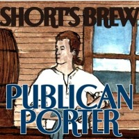 short's publican porter label