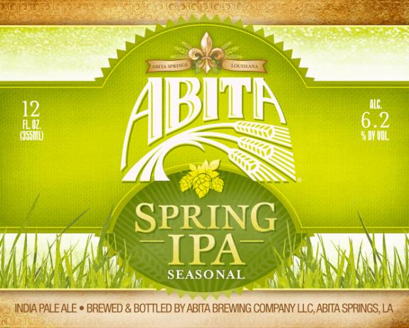 Abita Spring IPA label