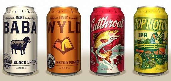 uinta beer cans