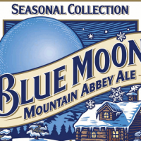 Blue Moon Mountain Abbey Ale label