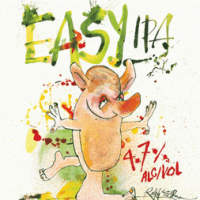 Flying Dog Easy IPA label