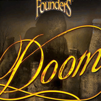 Founders Doom Bourbon Barrel Aged Imperial IPA Label