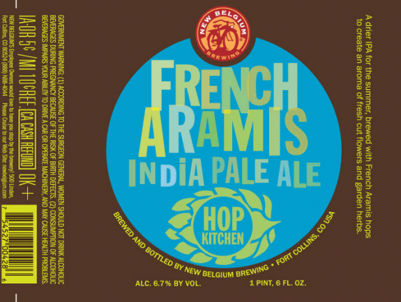 New Belgium French Aramis Hops IPA