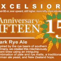 Ithaca Fiteen Anniversary Dark Rye Ale