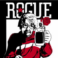 Rogue Mom Hefeweizen label