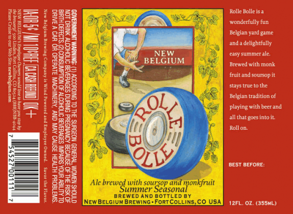 New Belgium Rolle Bolle Summer Ale