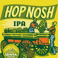 Uinta Hop Nosh IPA label